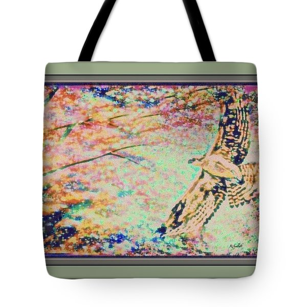 Hawk And Sky Tote Bag