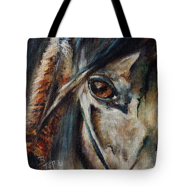 Hawk Tote Bag by Barbie Batson