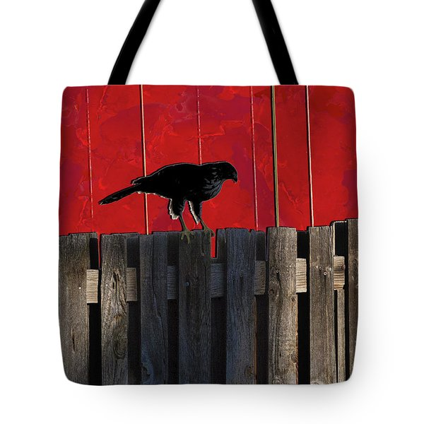 Hawk Tote Bag by Don Gradner