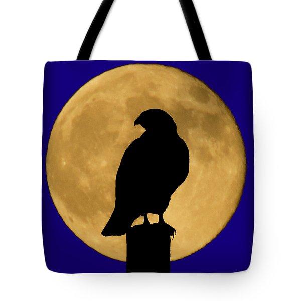 Hawk Silhouette 2 Tote Bag