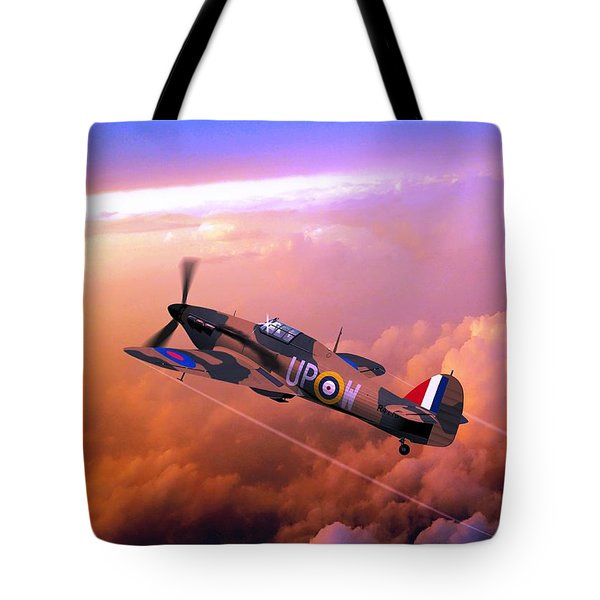 Hawker Hurricane British Fighter Tote Bag