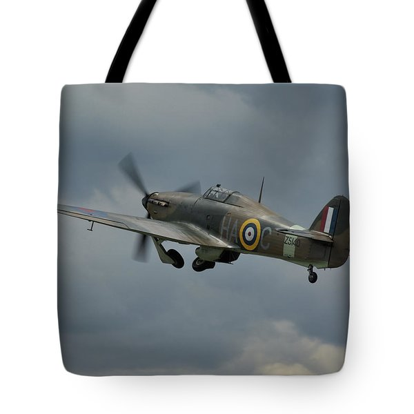 Hawker Hurricane Mk Xii  Tote Bag by Tim Beach