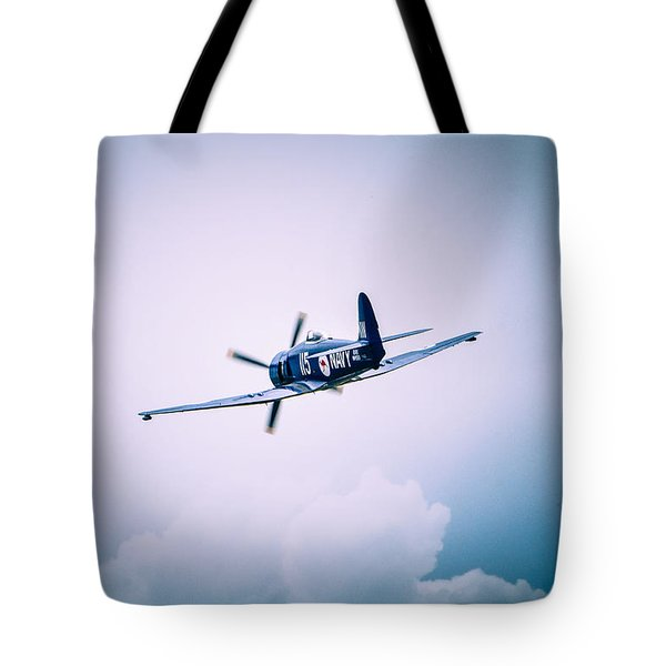 Hawker Sea Fury Fb11 Tote Bag