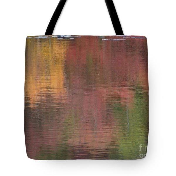 Hawkins Autumn Abstract II 2015 Tote Bag