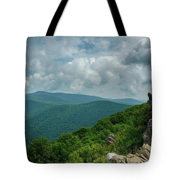 Hawksbill Mountain II Tote Bag