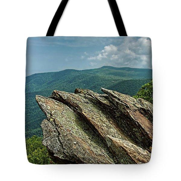 Hawksbill Mountain Tote Bag