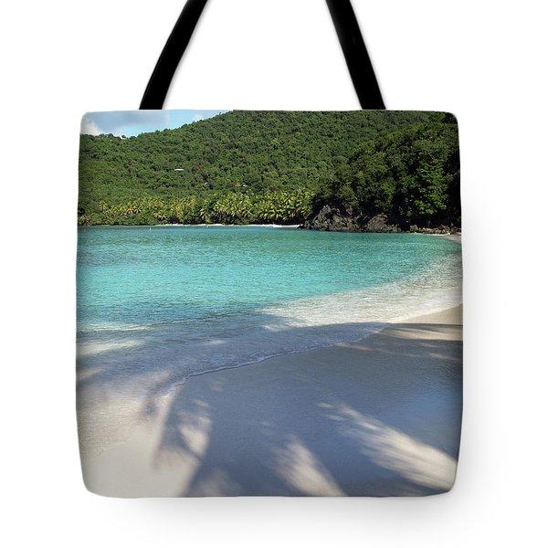 Hawksnest Bay And Gibney Beach Tote Bag