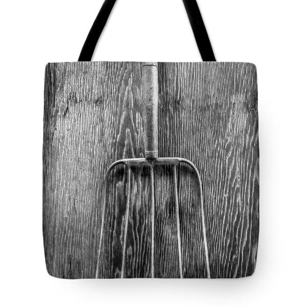 Hay Fork Tote Bag