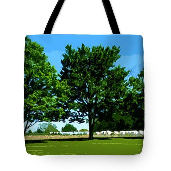 Hay Harvest Tote Bag
