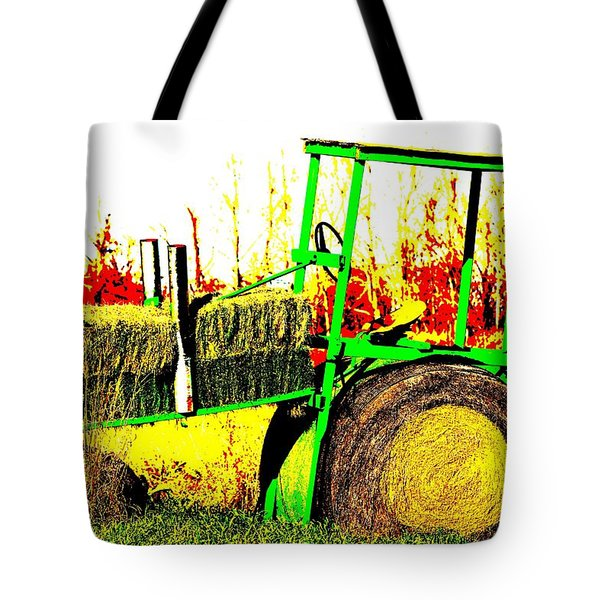 Hay It's A Tractor Tote Bag