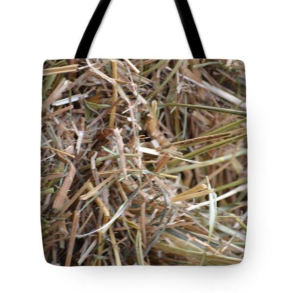 Hay Tote Bag by Linda Geiger