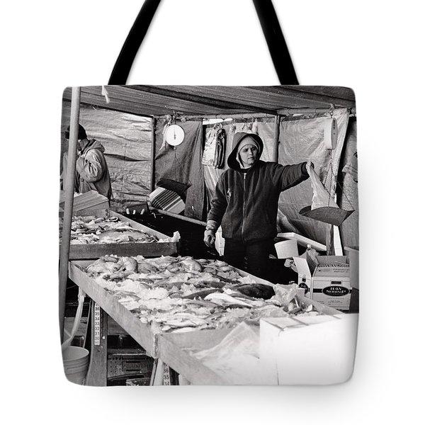 Hay Market  Tote Bag