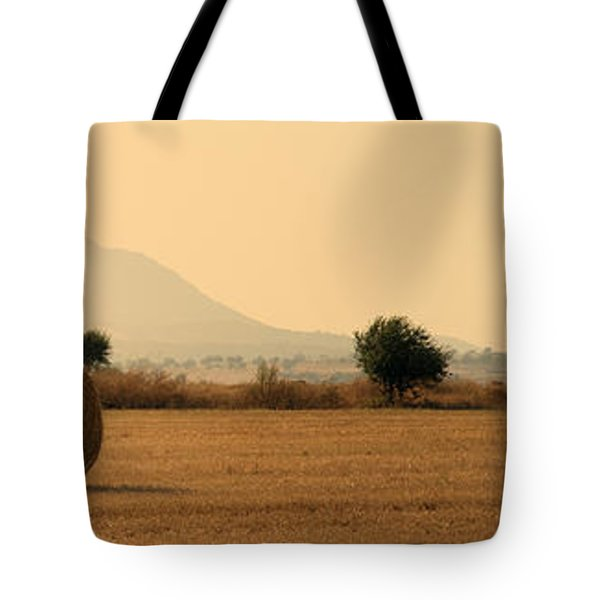 Hay Rolls  Tote Bag by Stylianos Kleanthous