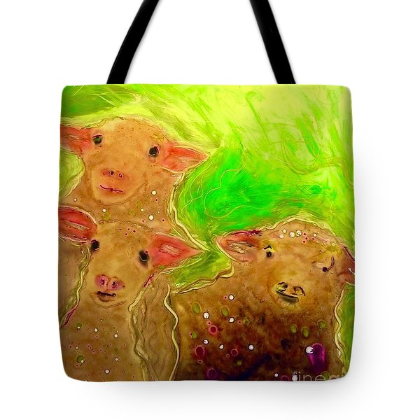 Hay What Dew Ewe Know Tote Bag