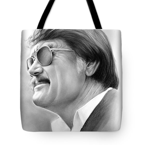 Hayden Fry Tote Bag by Greg Joens