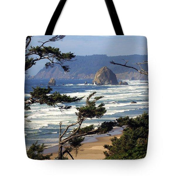 Hayhstack Rock Tote Bag by Marty Koch