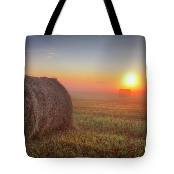 Hayrise Tote Bag by Dan Jurak