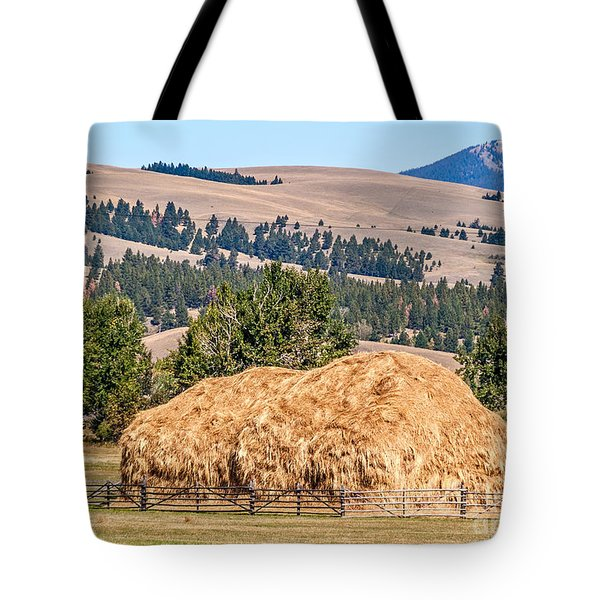 Tote Bag featuring the photograph Haystack Created With A Beaverslide by Sue Smith
