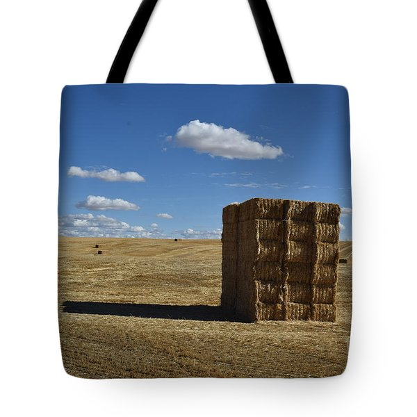 Haystack Off Hwy 2 Tote Bag