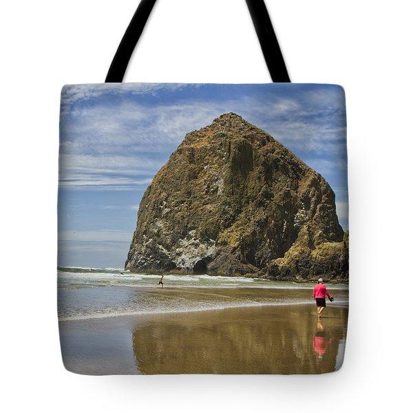 Haystack Rock 0258 Tote Bag