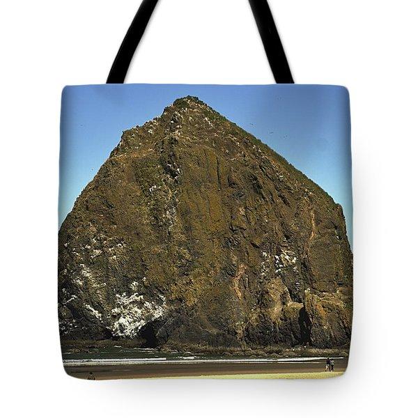 Haystack Rock, Cannon Beach, Or Tote Bag