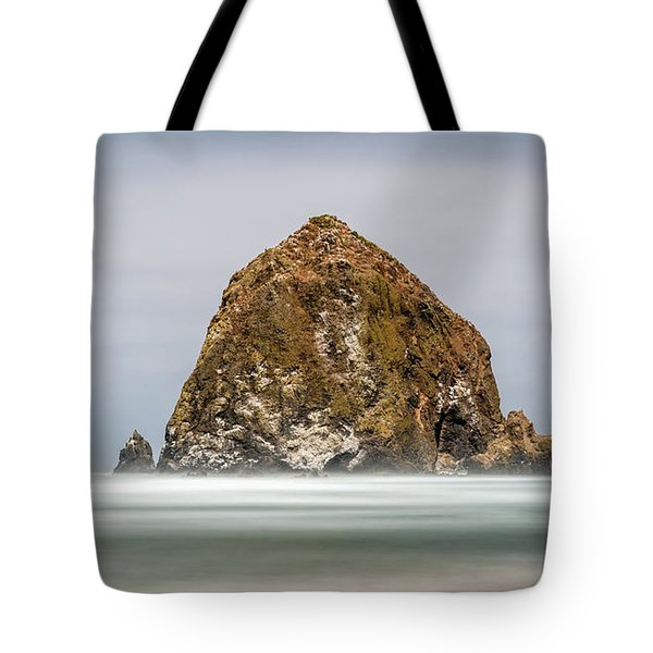 Tote Bag featuring the photograph Haystack Rock Oregon by Pierre Leclerc Photography