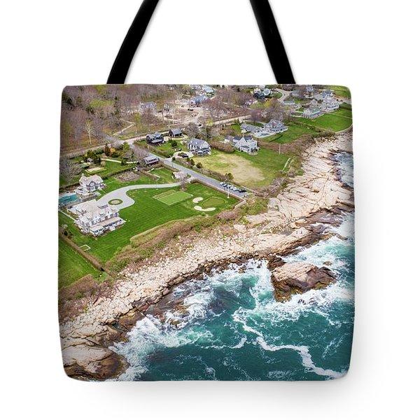 Hazard Rocks, Narragansett  Tote Bag