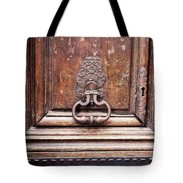 Hazel - Paris Door Photography Tote Bag by Melanie Alexandra Price