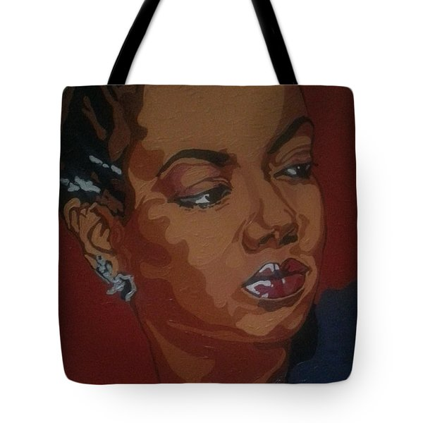 Hazel Scott Tote Bag