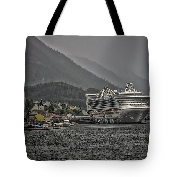 Hazy Day In Paradise  Tote Bag by Timothy Latta