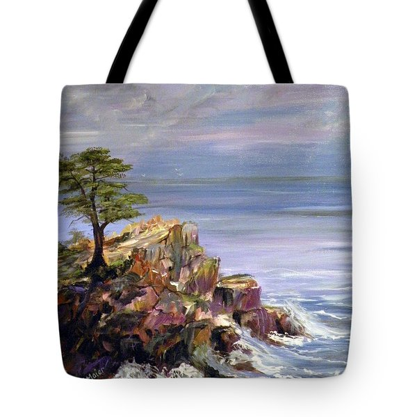 Hazy Morning Tote Bag by Dorothy Maier