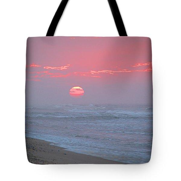 Hazy Sunrise I I Tote Bag