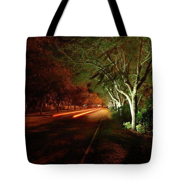 Hb Drive Time Lapse Tote Bag