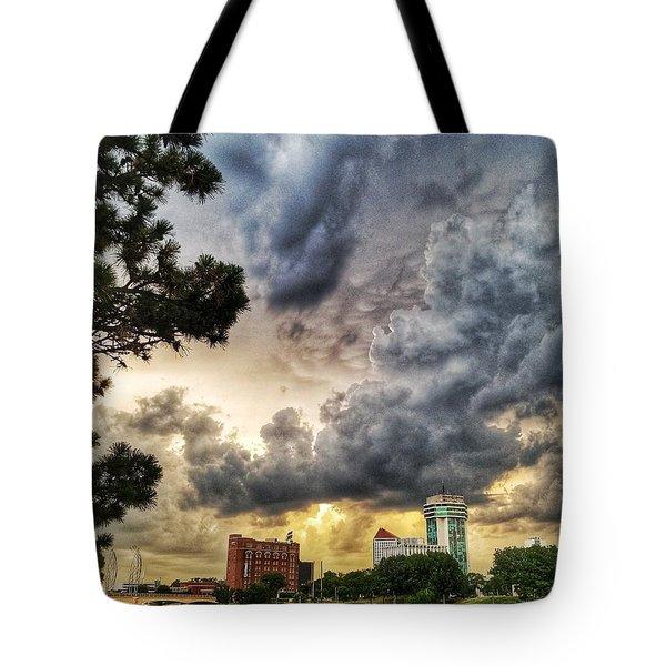 Hdr Ict Thunder Tote Bag