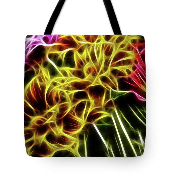 Hdr Light Drawing Tote Bag