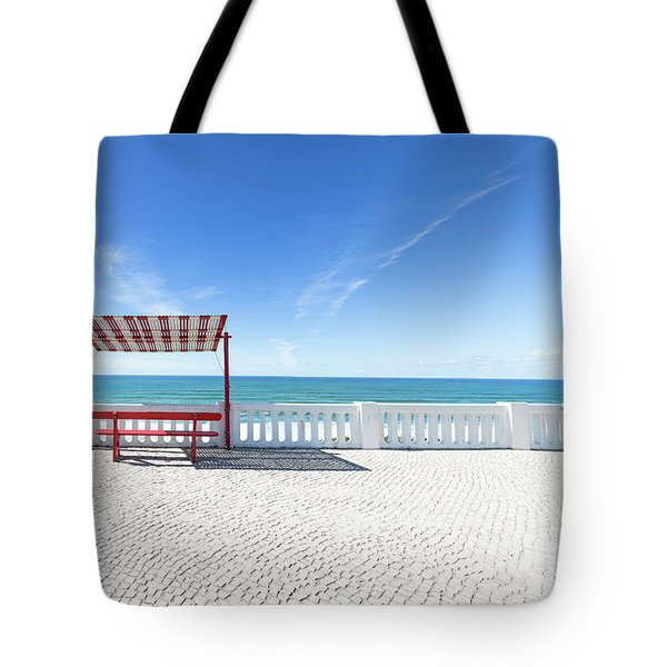 He And She Tote Bag by Edgar Laureano