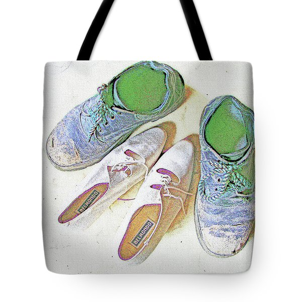 He And She Tote Bag