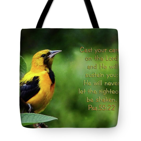 He Cares Tote Bag by Blair Wainman