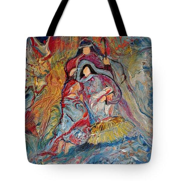 He Dwelt Among Us Tote Bag