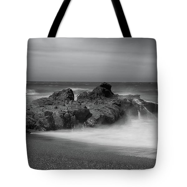 He Enters The Sea Tote Bag by Laurie Search