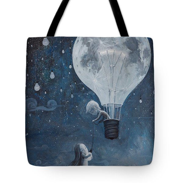 He Gave Me The Brightest Star Tote Bag by Adrian Borda