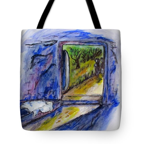 He Is Gone Tote Bag by Clyde J Kell