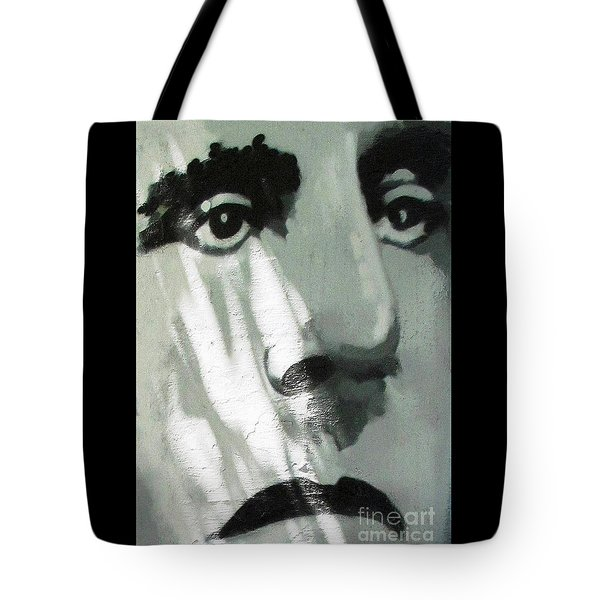 He Is Not Amused Tote Bag