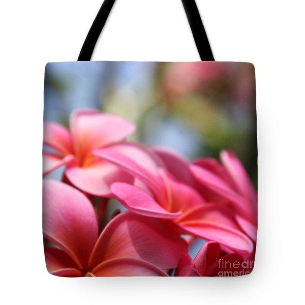 He Pua Lahaole Ulu Wehi Aloha Tote Bag by Sharon Mau