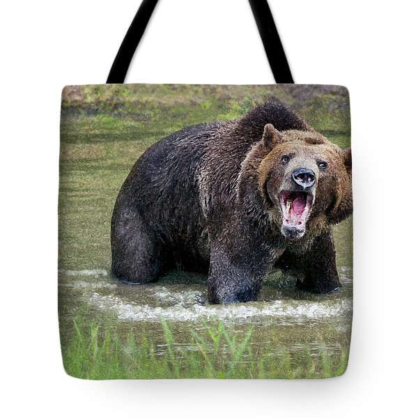 He Speaks Tote Bag