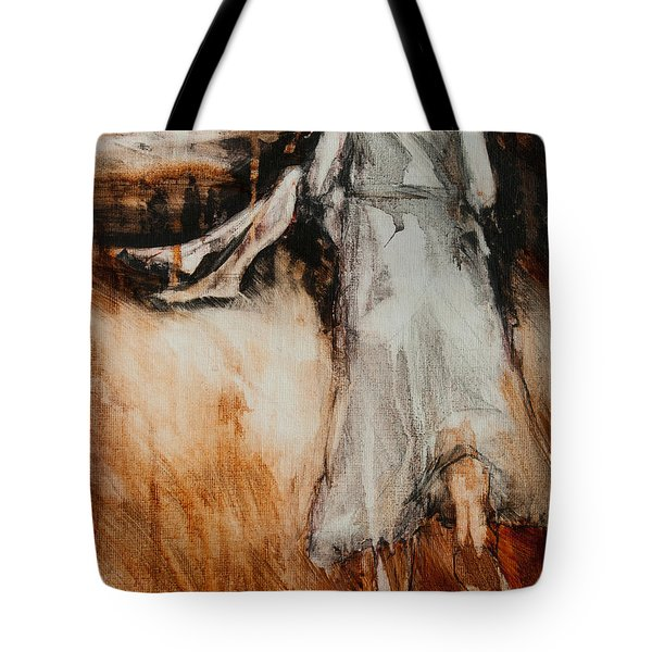 He Walks With Me Tote Bag by Jani Freimann