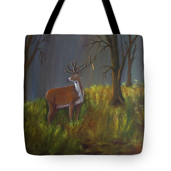 He Who Holds The Key Tote Bag
