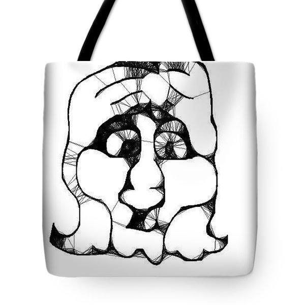 Head #2 Tote Bag