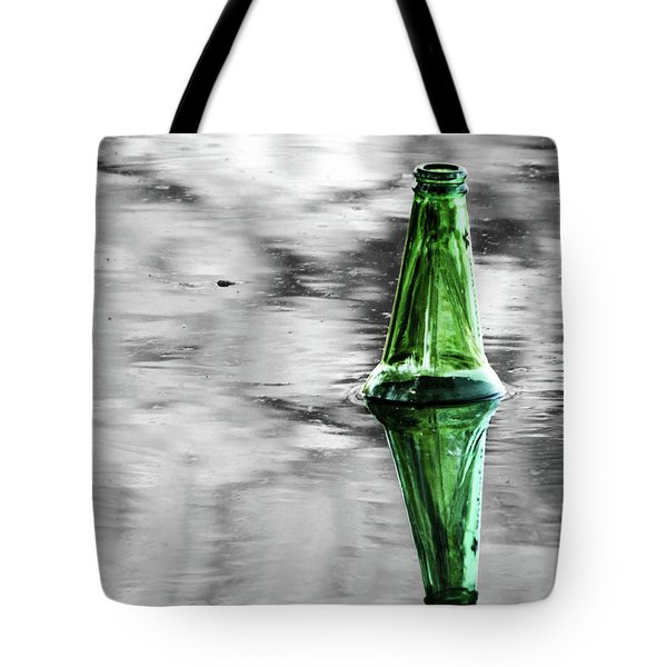 Head Above Water Tote Bag by Robert Ball