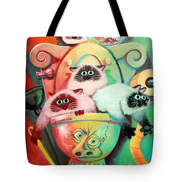 Head Cleaners Tote Bag